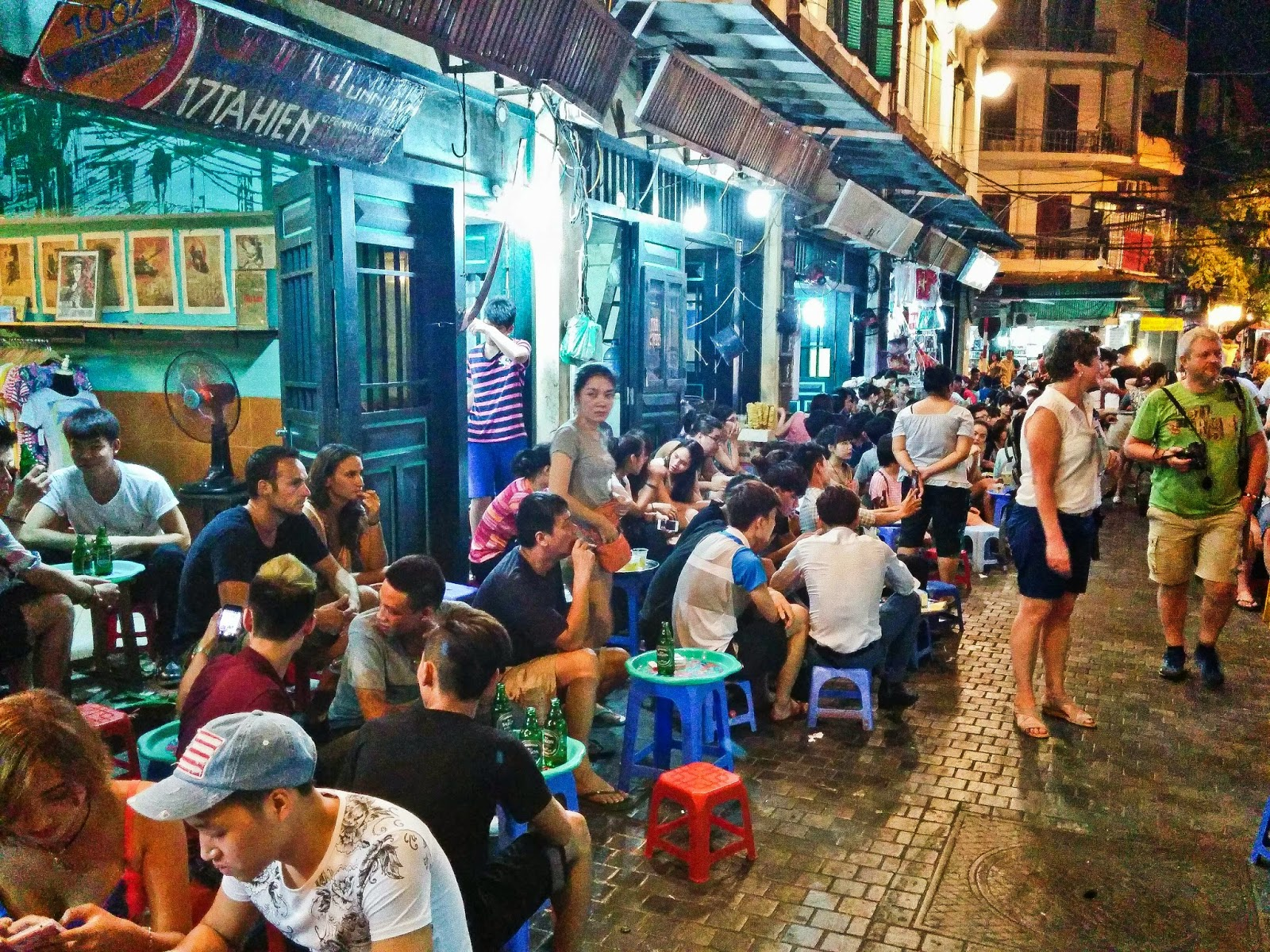 Night Activities On The Street For Foreigners Sapa